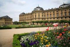 宫殿residenze维尔茨堡 免版税图库摄影
