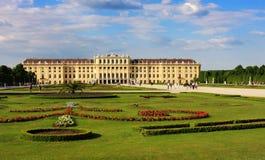宫殿schoenbrunn维也纳 图库摄影