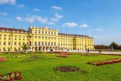 宫殿schonbrunn维也纳 奥地利 免版税图库摄影