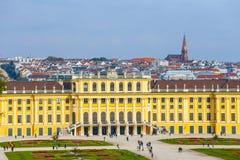 宫殿schonbrunn维也纳 奥地利 免版税库存照片