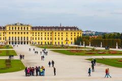 宫殿schonbrunn维也纳 奥地利 图库摄影