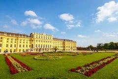 宫殿schonbrunn维也纳 奥地利 库存照片