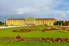 宫殿schonbrunn维也纳 奥地利 库存图片
