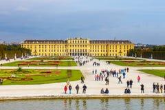 宫殿schonbrunn维也纳 库存照片