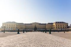 宫殿schonbrunn维也纳 免版税库存照片
