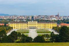 宫殿schonbrunn维也纳 免版税图库摄影