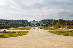 宫殿schonbrunn维也纳 免版税库存图片