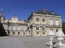 宫殿segovia西班牙 免版税库存图片