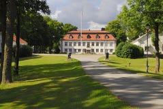 宫殿skytteholm 免版税库存图片