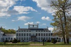 宫殿soestdijk在Baarn,荷兰 免版税库存照片