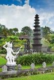 宫殿tirtagangga水 库存照片