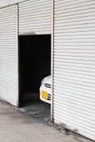 害羞的车 免版税图库摄影