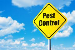 害虫控制 库存图片