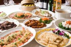 宴会中国人路线 免版税库存照片