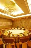 宴会中国设置表 免版税图库摄影