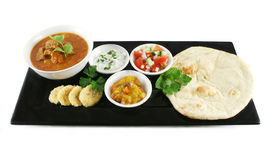 宴餐印地安人 图库摄影