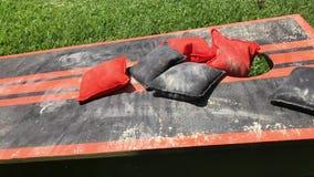 家做了多灰尘的玉米孔草坪比赛
