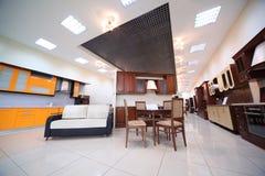 家具厨房设置多种 免版税库存照片