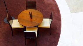 家具居住的现代空间 免版税库存照片