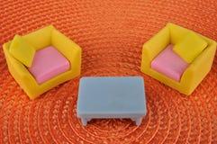 家具玩具 免版税库存照片