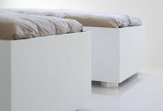 家具白色 库存图片