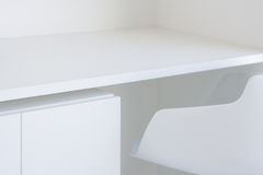 家具白色 免版税库存照片
