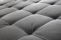 家具皮革沙发 免版税库存照片