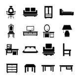家具  库存例证