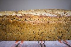 家制面包用蔓越桔和其他添加剂 烹调小馅饼波兰 图库摄影