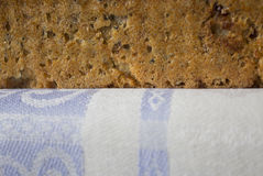 家制面包用蔓越桔和其他添加剂 烹调小馅饼波兰 库存照片