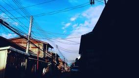 家在泰国 库存照片