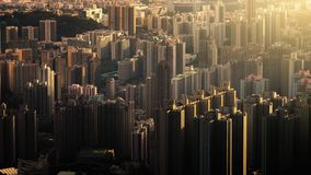 家在香港 库存图片
