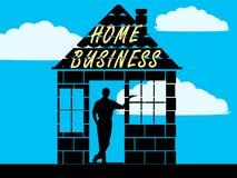 家庭企业 库存图片