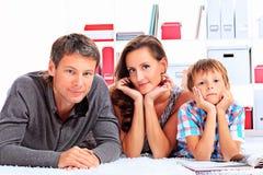 家庭休闲 免版税库存图片