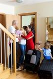 家庭会议 免版税库存照片