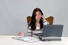 家庭作业技术 库存图片