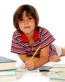 家庭作业时间 免版税库存图片