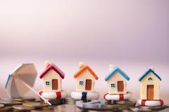 家庭保险概念 免版税图库摄影