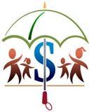家庭保险 免版税图库摄影