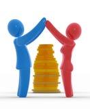 家庭储蓄 免版税库存图片