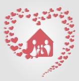 家庭元素 免版税库存图片