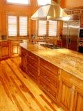 家庭内部厨房 免版税库存图片