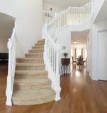 家庭内部楼梯 免版税库存图片