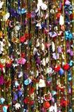 家庭内部的装饰花 免版税库存图片