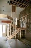 家庭内部建设中 免版税图库摄影