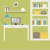 家庭办公室2 免版税库存照片