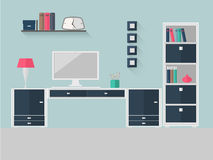 家庭办公室5 免版税图库摄影