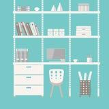 家庭办公室4 免版税图库摄影