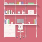 家庭办公室3 免版税库存照片