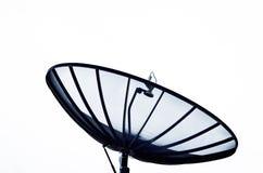 家庭卫星盘 图库摄影
